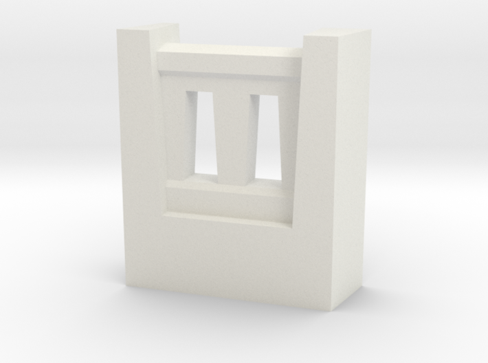 Triple Underpass NW Wing Wall Fence 3d printed