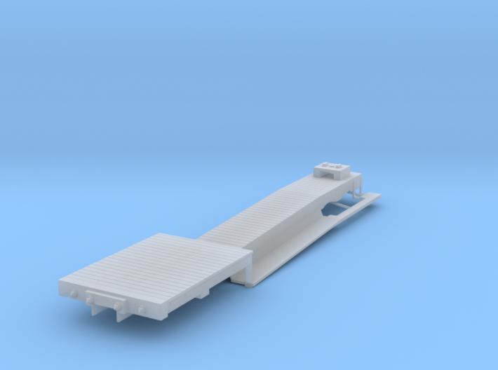 ET&WNC Trailer Flat HOn3 3d printed