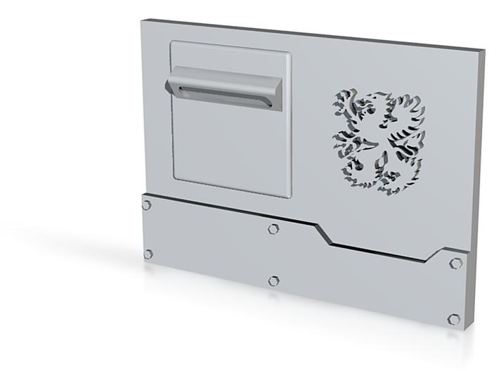 "Griffons ""Metal Box APC"" front panel L 3d printed"
