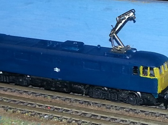 Class 86 - Z - 1:220 3d printed finished model using pantograph from chassis.