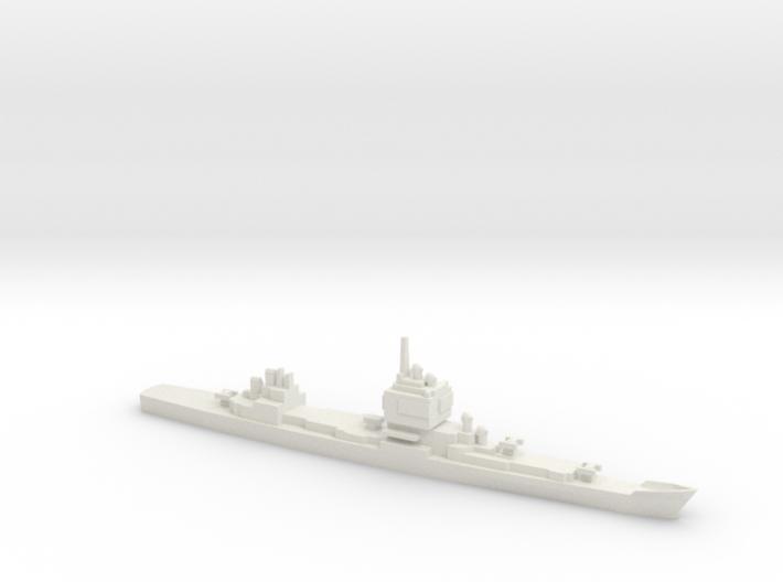 USS Long Beach, 1961, 1/1200 3d printed