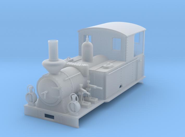 """0m BLJ loco #9 """"Tallås"""" 3d printed"""