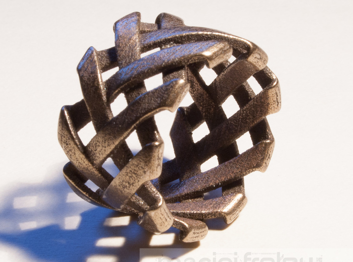 Braid Ring size 20mm 3d printed