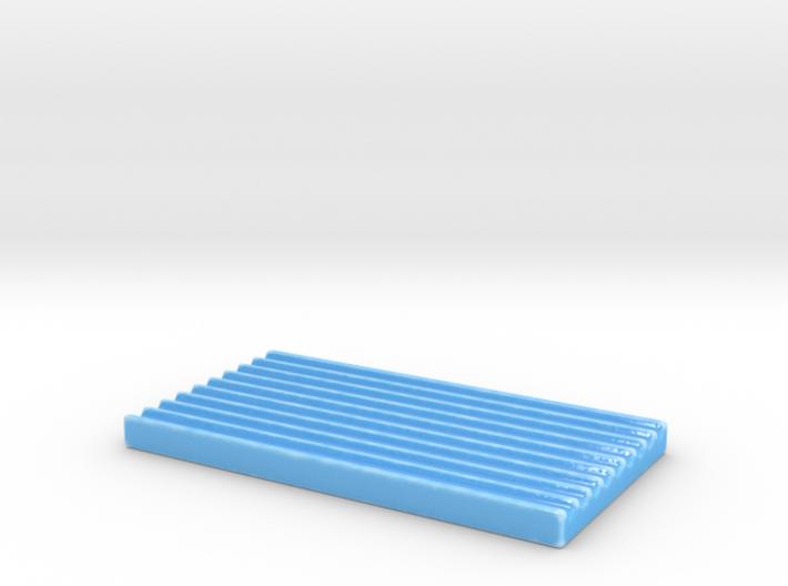 Simple soap dish 3d printed