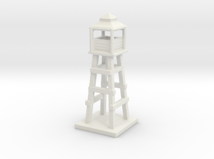1/285 Watch Tower/Labor Camp Game Pieces 3d printed
