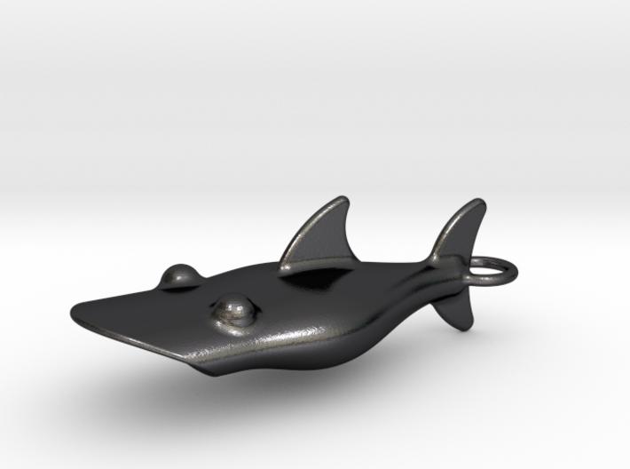 Little Shark Bottle Opener 3d printed