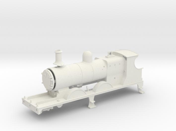 7mm - L&YR Class 28 Mogul Experiment 3d printed