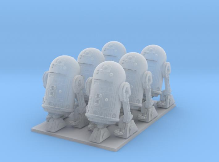 1/72 Spaceship Diorama Robots 3d printed