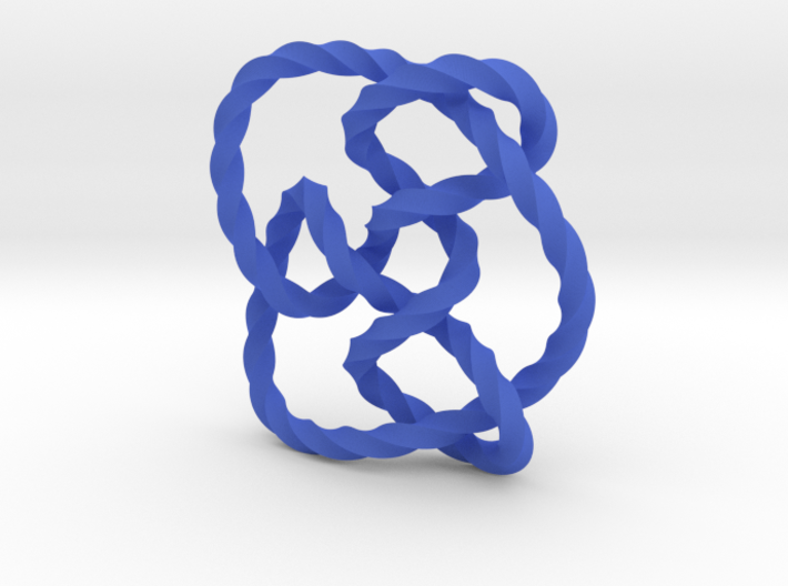 Knot 8₁₅ (Twisted square) 3d printed
