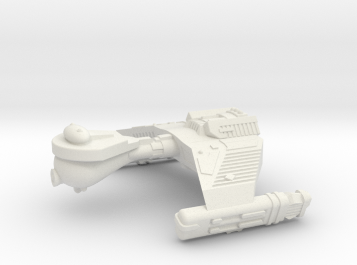 3788 Scale Klingon F5WK Refitted War Destroyer WEM 3d printed