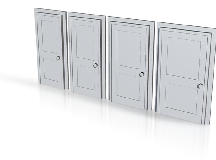 Door Type 4 - 4mm Scale 3d printed