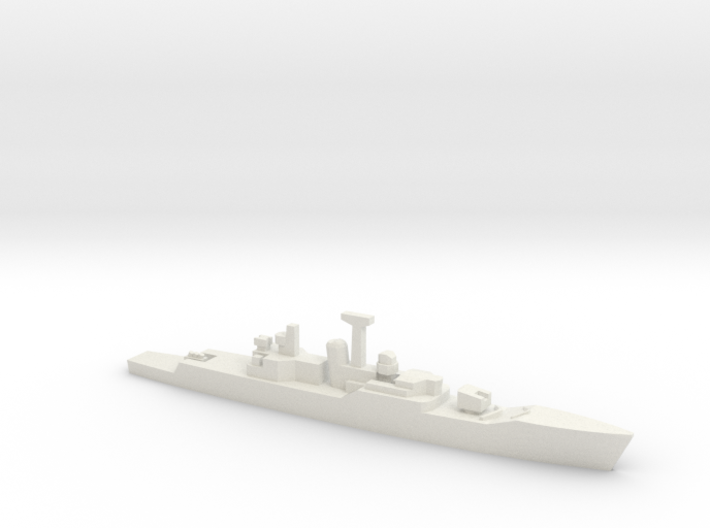 Rothesay-class frigate (1969), 1/1800 3d printed