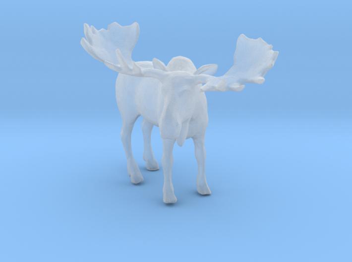 Printle Thing Moose - 1/120 - wob 3d printed