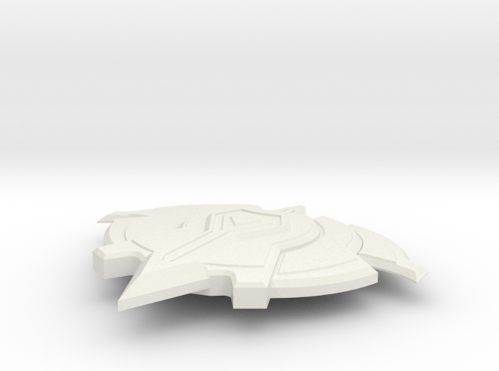 Miniature Vigil Signet Shield - Dota 2 3d printed