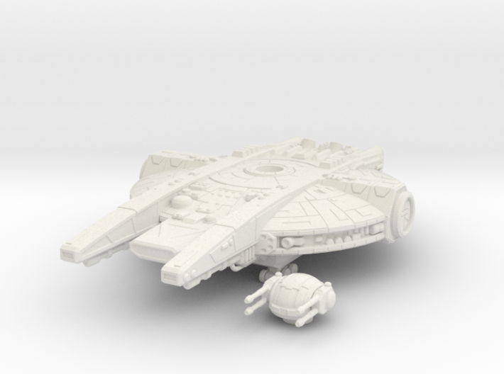 YT-2350 Military Transport 3d printed
