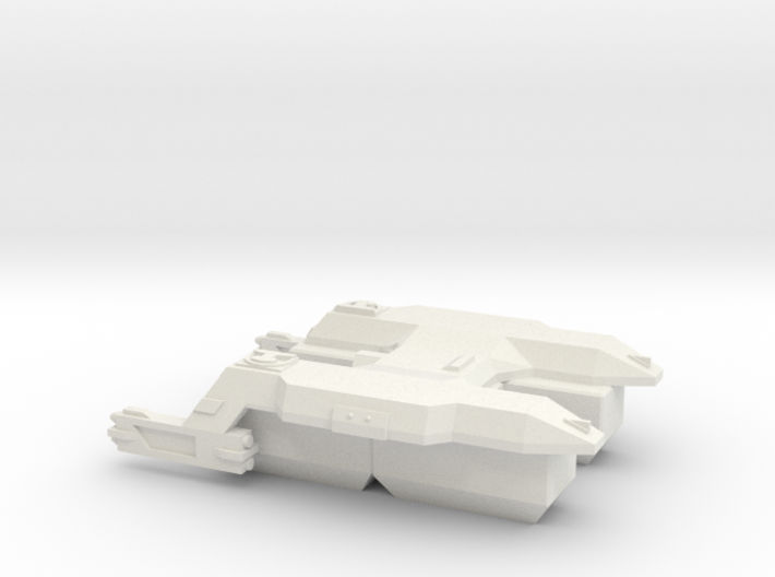3788 Scale Lyran Puma Transport Tug CVN 3d printed