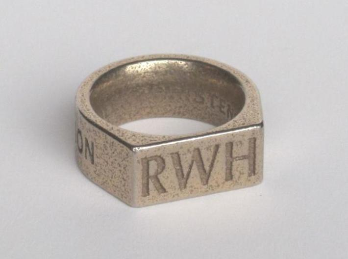 Return With Honor ring 3d printed Description