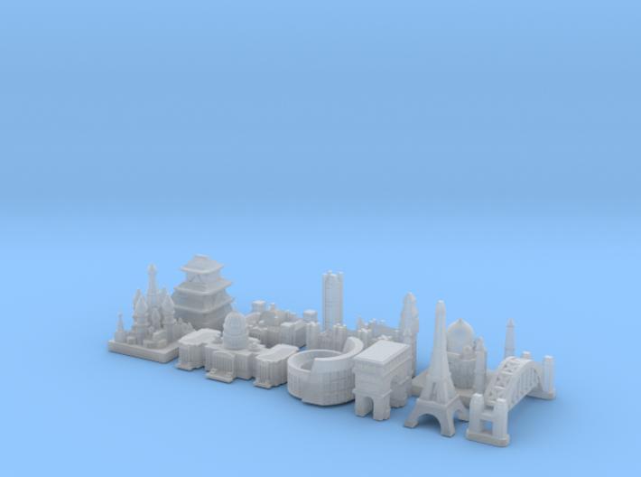 Capital Set (Smaller) 3d printed