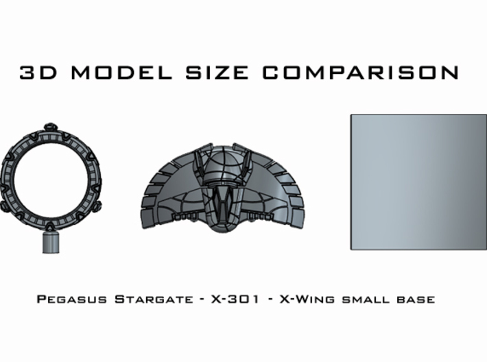 X-301: 1/270 scale 3d printed