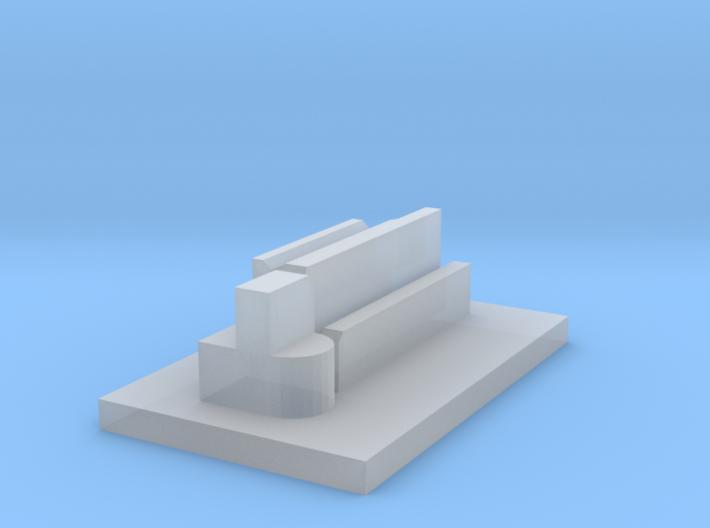 HO NSWR LQ Signal Handrail Bending Jig 3d printed