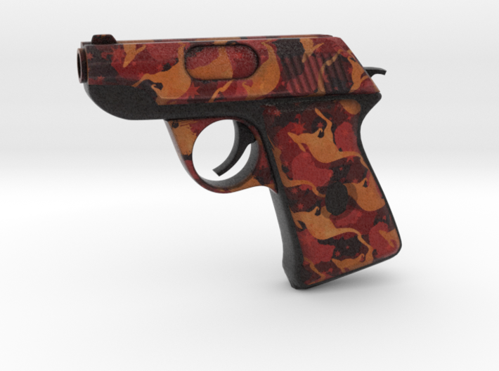 TF2 Life sized scout pistol (decorated) 3d printed