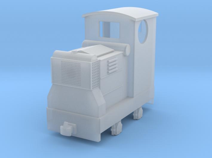 55n12 Ruston 18hp diesel with Cab 3d printed