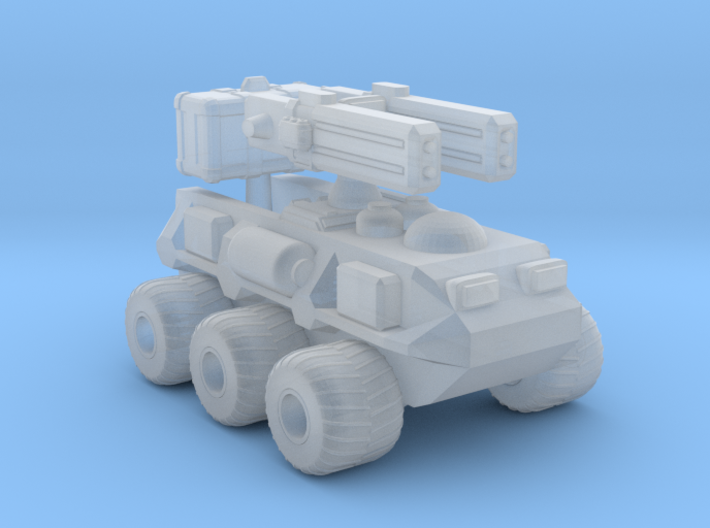 1/87 Scale Assault ROV 3d printed