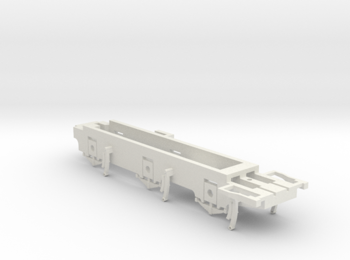 7mm - L&YR Class 28 - 0 Chassis 3d printed