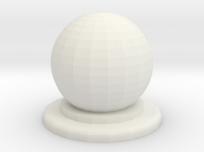 Sphere Piece Small 3d printed