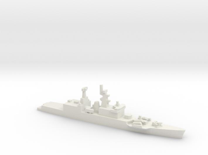 Godavari-class frigate, 1/1250 3d printed