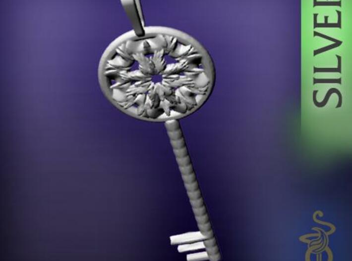 Magic key pendant 5.5cm 3d printed 1