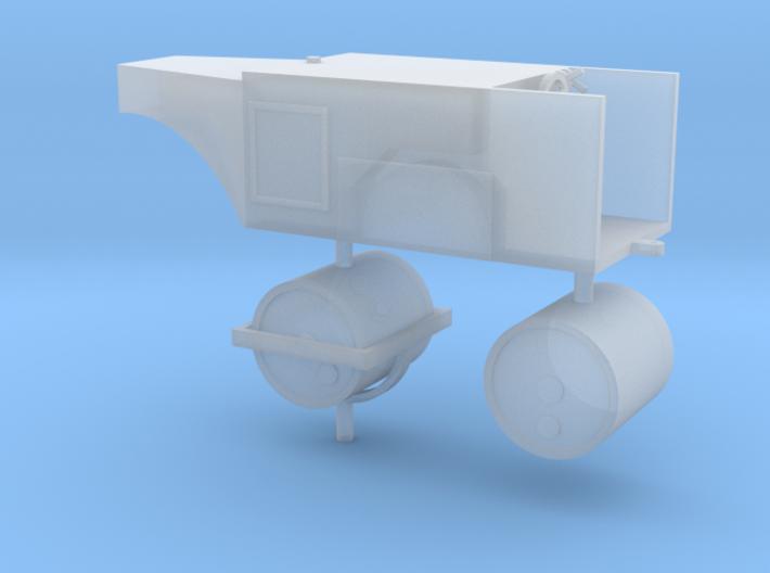 Straßenwalze ohne Verdeck 1:72 3d printed