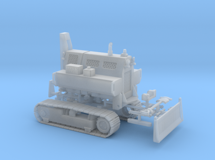 1/64th Remote control Tracked mobile home tug 3d printed
