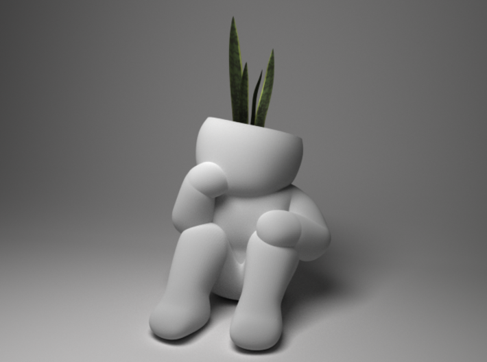Architect planter 3d printed