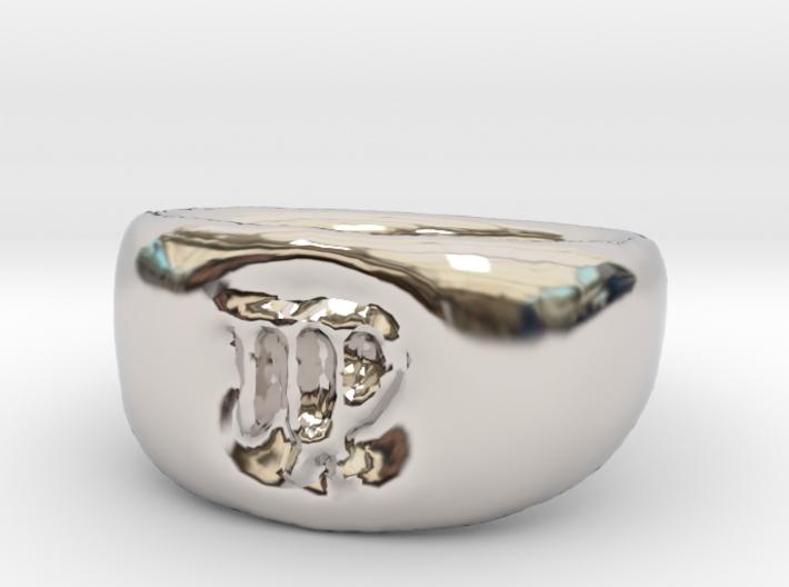 Virgo Ring sz8 3d printed
