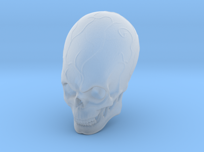Elebrian skull 3d printed