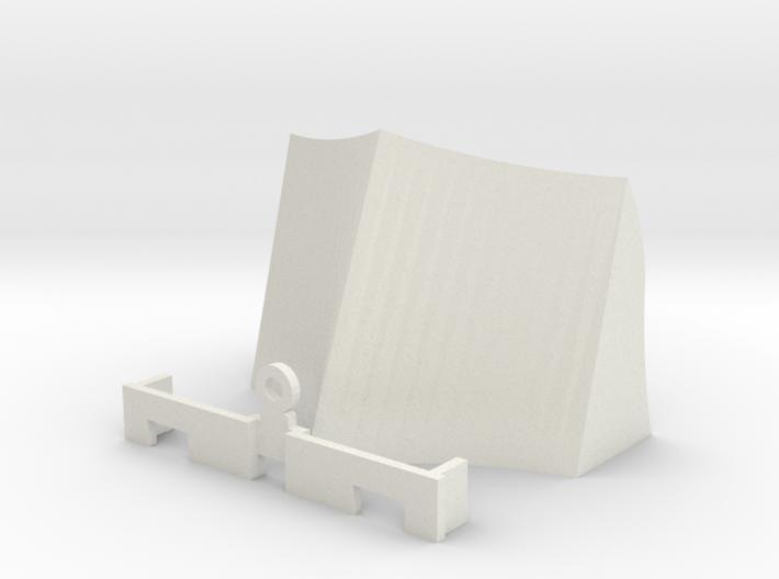 OO / HO Snowplough Type 2 Size 3 3d printed