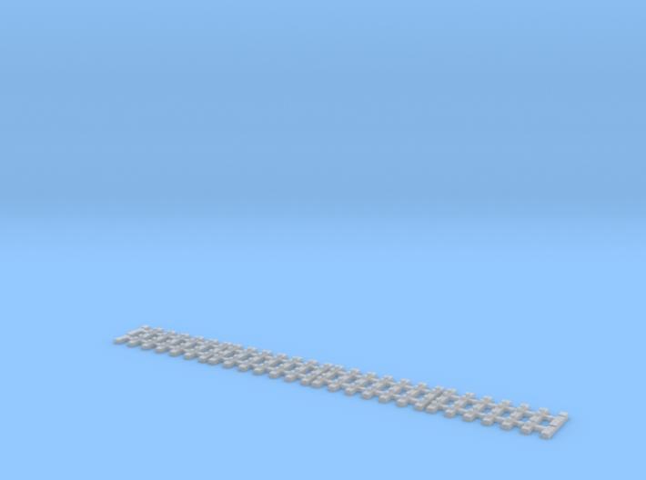 Ne flexible track for code 55 profiles 3d printed