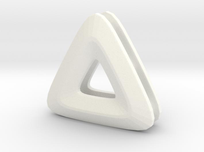 Unite ::: Triangle Pendant ::: v.01 3d printed