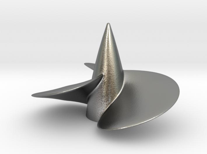 Single right hand ship propeller f. Bismarck/Tirpi 3d printed