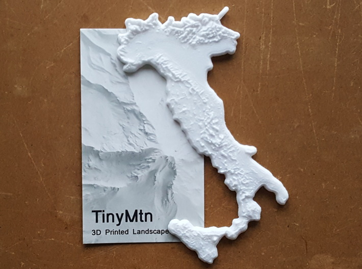 Italy Christmas Ornament 3d printed