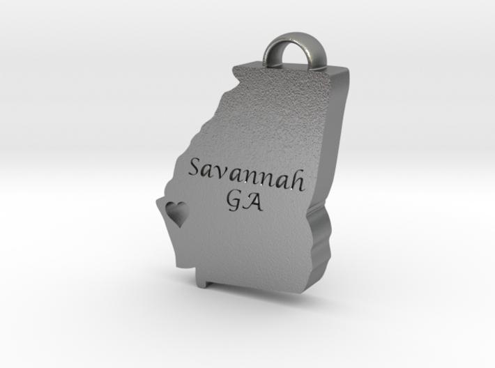 Home is Where the Heart Is: Savannah, Georgia 3d printed