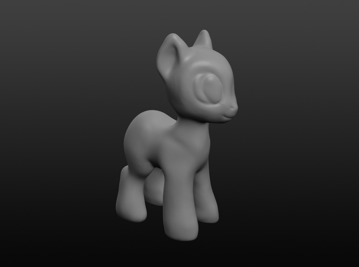 Your Diminutive Equine 3d printed