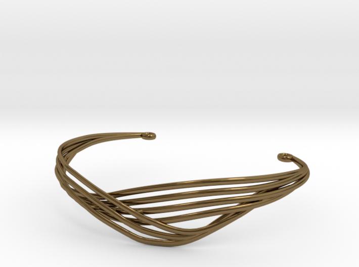Cecilie Cuff Bracelet 3d printed