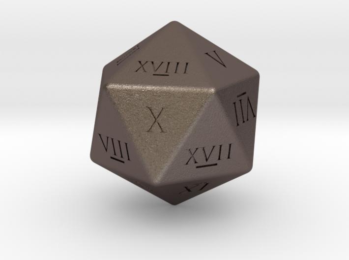 D20 - Roman Numerals 3d printed