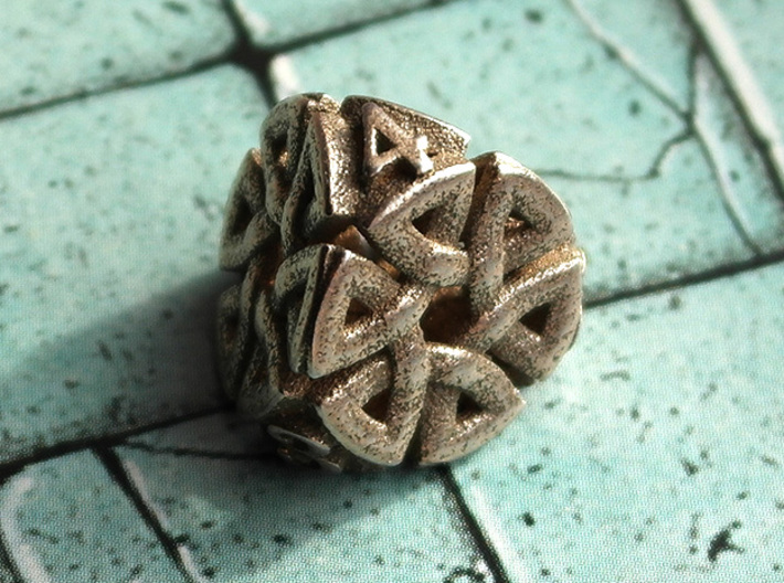Celtic D4 Alternative 3d printed