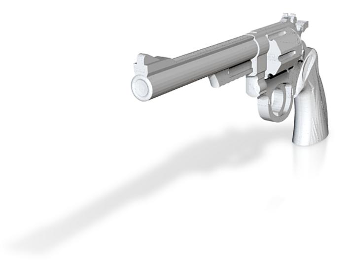 "estimate 1/6 Scale 44 Magnum Revolver 6"" Barrel 3d printed"