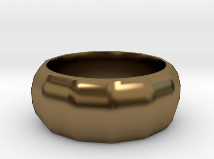 RING 5-13 Faceted 3d printed