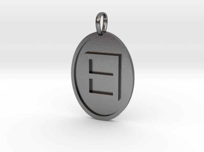 Eta Medallion 3d printed