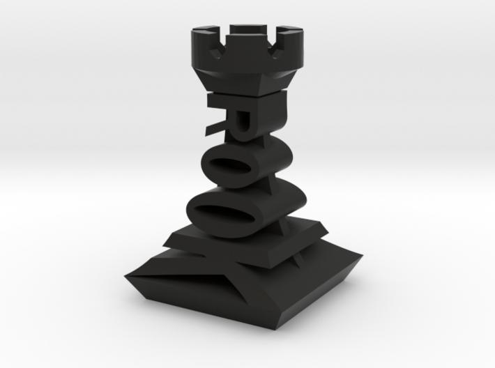 Modern Chess Set - ROOK 3d printed